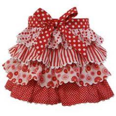 Ruffled skirt - a little bit in love!