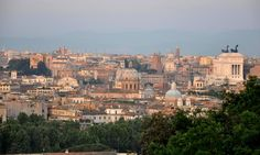 View of Rome from the Janiculum, a top photo op