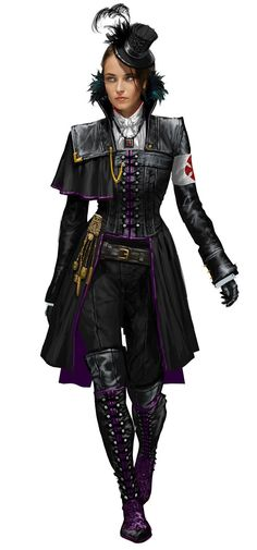 Lucy Thorne - Characters & Art - Assassin's Creed Syndicate - costume design