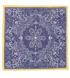 Drakes London Bandana Handkerchief