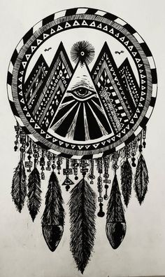 Indian dream catcher... i totally wanna draw this except I don't like the middle  I would change that
