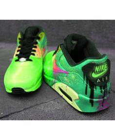 best sneakers a981e fd1d4 Cheap Nike Air Max 90 Candy Drip Poison Green Sale