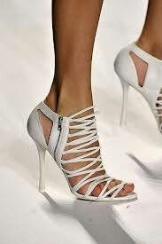YSL Strappy Shoes