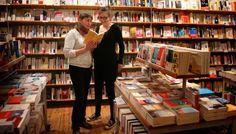 La librairie Bateau Livre, rue Gambetta à Lille : associée au projet stratégiquement, financièrement et légalement, elle est la source d'inspiration quotidienne de la librairie la Forge !