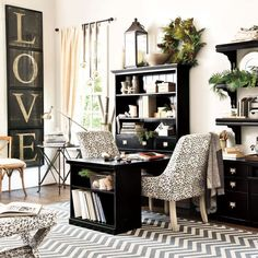 Want To Decorate Your Home Office? Find Out How! - Bored Art