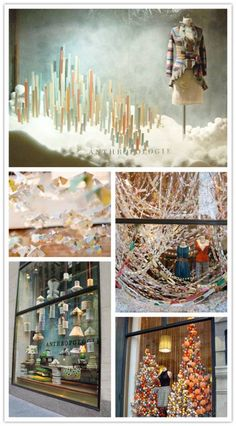 Hello, Inspo: Anthropologie I want the ceiling to be covered with crazy goodness...so I like the idea of paper chains (cheap and easy, can stay white)