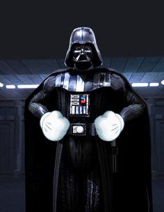 Vader Mickey Gloves