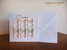 RejoicingCrafts: Handmade Baby Girl Card  New Baby Baby Shower