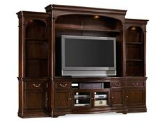 "Shop for Hooker Furniture Sheridan 73 1/4"" Entertainment Console, 5038-70456, and other Home Entertainment Entertainment Centers at Weinberger's Furniture and Mattress Showcase in Georgia. With a relaxed, soft take on classic traditional styling, Sheridan evokes the charm of an Old World chateau in a casual and unpretentious way."
