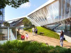 Shenzhen, Mixed Use Development, Gallery, Bridge, Design, Roof Rack, Bridge Pattern, Bridges, Bro