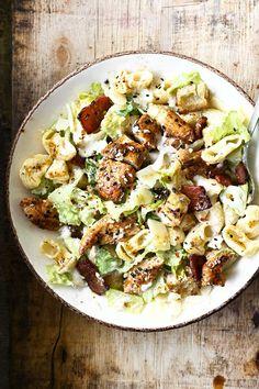 Chicken Caesar Pasta Salad, Pasta Salad Recipes, Best Meat, Sesame Chicken, Side Salad, Original Recipe, Food Inspiration, Poultry, Side Dishes