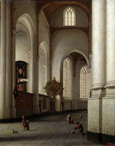 Image: Anthonie de Lorme - Rotterdam,Laurentiuskirche / De Lorme