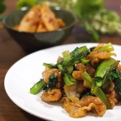 小松菜と豚肉のスタミナ炒め+by+ゆずママさん+|+レシピブログ+-+料理ブログのレシピ満載! 小松菜と豚肉を醤油とニンニクでささっと炒めるだけ!クセになる味です♪