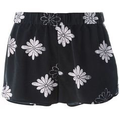 Collection featuring Alice + Olivia Shorts, IRO Shorts, and 198 other items Hot Shorts, Silk Shorts, Floral Shorts, Hot Pants, Printed Shorts, Patterned Shorts, Mode Monochrome, Black Silk, Workout Shorts
