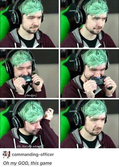 """Jacksepticeye...""""This was from the Last Guardian... right? I love Jacks reactions to emotional scenes in games. It's so sweet. :)"""""""