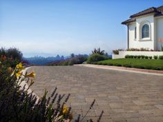 Welcome home! How'd you like to pull into this Mega Bergerac driveway with a view every day?