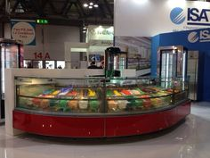 ISA at Host 2013 in Fiera Milano, Italy - www.isaitaly.com #forniture #icecream #pastry #bar