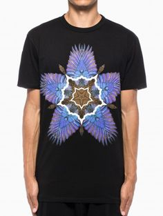 Olga t-shirt from the F/W2013-14 Marcelo Burlon County of Milan collection in black.