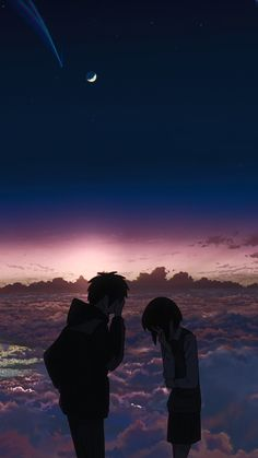 Anime pictures kimi no na wa taki e mitsuha lockscreen wallpaper How to Budget for Home Improvements Anime Backgrounds Wallpapers, Anime Scenery Wallpaper, Cute Anime Wallpaper, Animes Wallpapers, Kimi No Na Wa Wallpaper, Wallpaper Wa, Couple Wallpaper, Your Name Wallpaper, The Garden Of Words