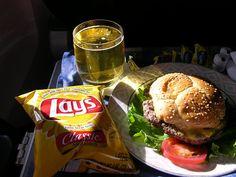 Alaska Airlines Meal