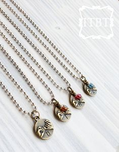 Best Friends Necklaces - Pinky Promise - BFF Jewelry - Gifts for Best Friends - Boys and Girls Styles Available via In The Bean Time $15