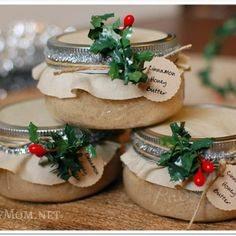 Cinnamon Honey Butter- Gifts in a Jar