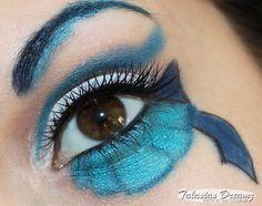 Sailor Neptun inspired make up http://www.talasia.de/2013/04/14/sailor-neptun-inspired-make-up/ #Makeup #eyes #eot #amu #sailormoon