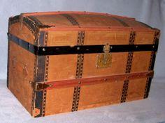 "Exceptional 16\"" Bru Lady - Trunk, Wardrobe, Museum Provenance"
