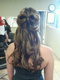 Bridesmaid hair :)