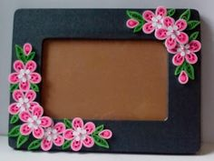Let's create: Pink, Red and Black Quilling Frame