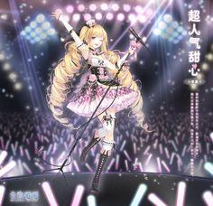 Anime Girl Pink, Anime Art Girl, Anime Fantasy, Fantasy Art, Anime Chibi, Manga Anime, Japonese Girl, Nikki Love, Anime Dress