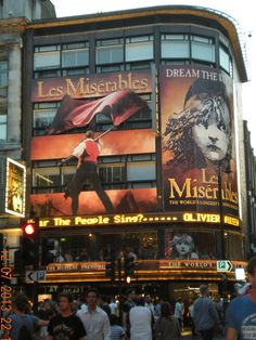 Les Miserables in Piccadilly Circus, London, England