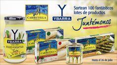 ¡Ybarra y Carretilla sortean 100 lotes de productos!