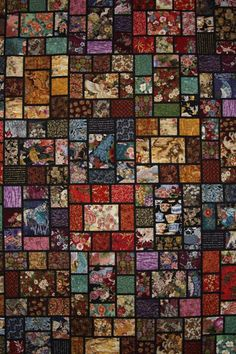 scrappy quilt patterns | liked this scrappy quilt which uses some of those Japanese prints ...