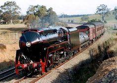 Steam Locomotive, Plane, Trains, Diesel, Transportation, Australia, History, Logos, World