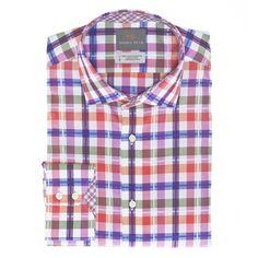 Men's short-sleeve mint gingham shirt | Men's Fashion | Pinterest ...