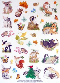 Current, Inc. cute animal stickers