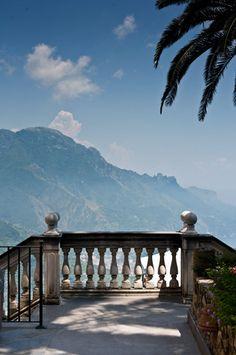 Morning coffee view mmmm! love the balustrade