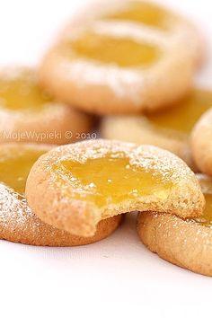 Lemon dimples - kruche ciasteczka z lemon curd