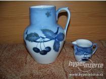 keramika modré třešně