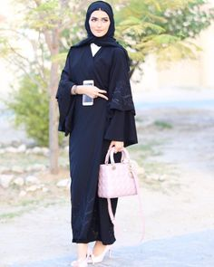 1194 Best BLACK ABAYA images in 2019  686477f00de9