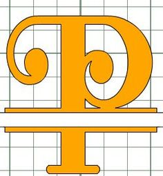 The Non-Crafty Crafter: Cricut CCR: Making a Split letter Monogram