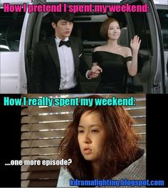 How I Really Spend My Weekend #kdrama #dramafever #kpop