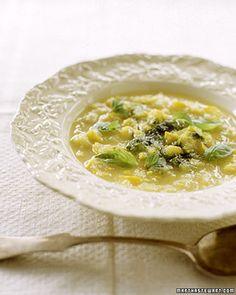 summer squash soup with basil pistou summer squash basil soup 1 ...