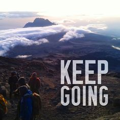 Probably one of the biggest lessons from going up the mountain was to always just keep going. No matter what your goals are, you always have to stick to it and keep working at it to make it a reality!  #thinkleanmethod #tlm #photooftheday #food #instafit #fitfam #fitspo #healthyliving #healthyeating #cleaneating #motivation #fitness #fit #gym #workout #training #exercise #balance #healthy #mind #psychology
