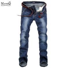Mwxsd brand casual men jeans skinny pants Mens denim jeans fashion washed  ripped jeans homme jeans