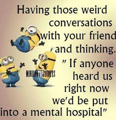 Yep! Funny MinionMinion ...