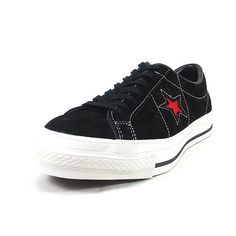a8e94619bcbccd FOOTMONKEY  ○○ Limited model men s sneaker made in Converse one star suede  CONVERSE ONE STER J SUEDE black   red sneakers men low-frequency cut suede  ...