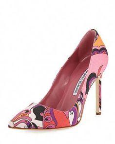 a7c703f7bba4 Manolo Blahnik BB 105mm Fabric Pump  ManoloBlahnik Fab Shoes