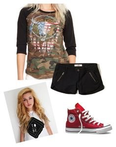 """""""Untitled #1545"""" by savanah-mariee ❤ liked on Polyvore featuring Denim & Supply by Ralph Lauren, Converse and Hollister Co."""